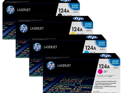 HP Q6000A ORIGINAL TONER SET OF 4