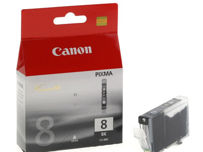 CANON CLI8 ORIGINAL BLACK INK