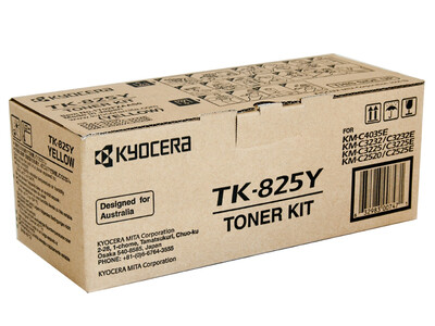 KYOCERA TK-825 ORIGINAL TONER YELLOW