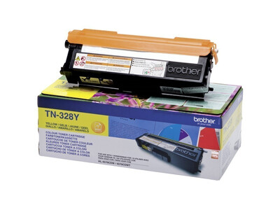 BROTHER TN328 ORIGINAL TONER YELLOW