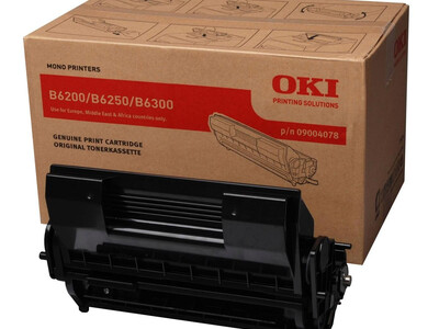 OKITDB6200/B6250/B6300 TONER+DRUM KIT