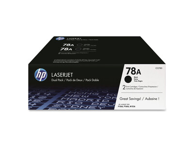 HP CE278A ORIGINAL TONER BLACK TWIN PACK