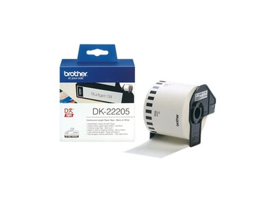 BROTHER WHITE CONTINUOUS PAPER TYPE 62MM X 30.48M