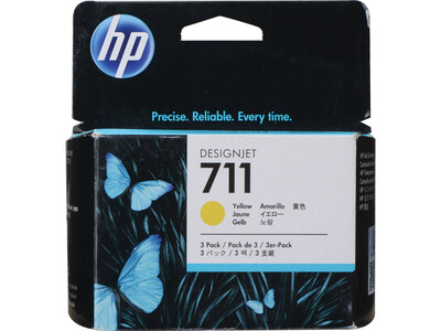 HP 711 ORIGINAL  YELLOW 29ml INK