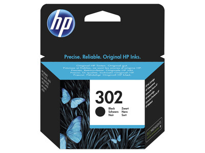 HP 302  ORIGINAL BLACK INK  3.5ML