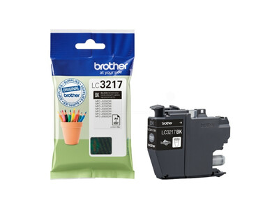 BROTHER LC3217 ORIGINAL BLACK INK