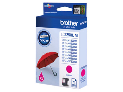 BROTHER LC225XL ORIGINAL  MAGENTA INK