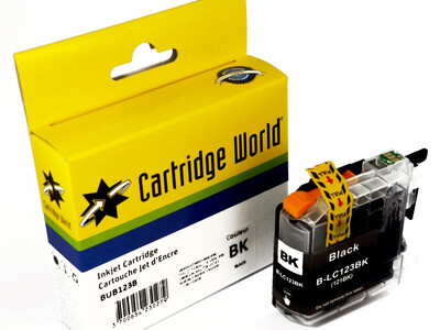 BROTHER LC123/121 CW REPLACEMENT BLACK INK