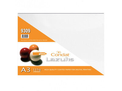 LAZULIS GLOSS A3 115GR PHOTO PAPER 250