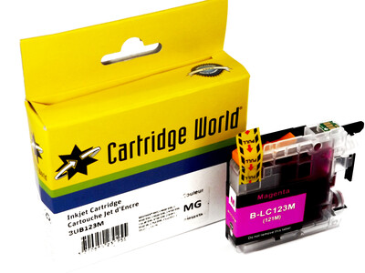 BROTHER LC123/121 CW REPLACEMENT MAGENTA INK