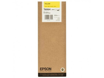 EPSON 4800/4880 Τ606400 YELLOW 220ML INK
