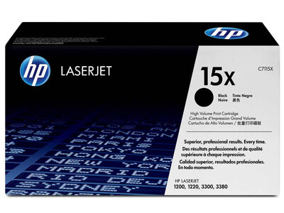 HP C7115X ORIGINAL H/ Y TONER BLACK