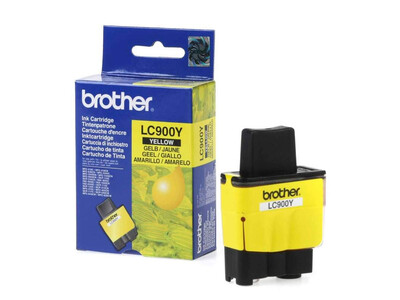 BROTHER LC900 ORIGINAL YELLOW INK