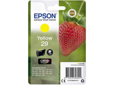 EPSON T29 ORIGINAL YELLOW INK