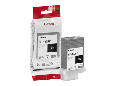 CANON INK PFI 107 ORIGINAL BLACK INK