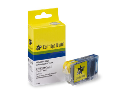 CANON CLI8 CW REPLACEMENT PHOTO CYAN INK WIGIG CLEARANCE ITEM