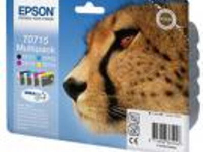 EPSON T0715 ORIGINAL MULTIPACK 4 INK