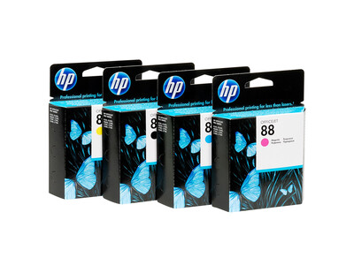 HP 88 EXTRA LARGE ORIGINAL INK SET OF 4
