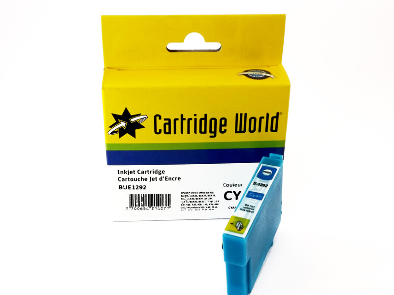 EPSON T1292 H/Y CW REPLACEMENT CYAN INK - LOW COST INK - Cartridge