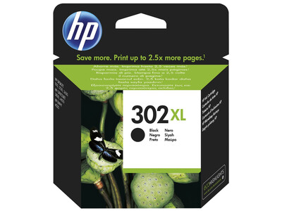 HP 302 EXTRA LARGE ORIGINAL BLACK INK 8.5ML