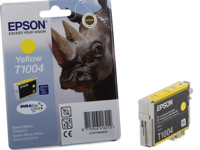 EPSON T1004 ORIGINAL YELLOW INK