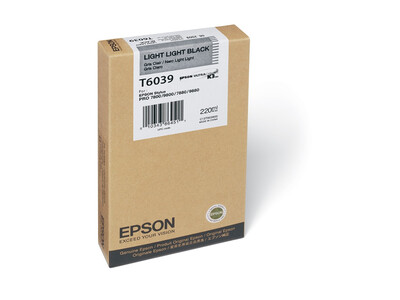 EPSON T6039 ORIGINAL LIGHT LIGHT BLACK