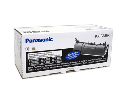 PANASONIC KXFA85X ORIGINAL TONER BLACK