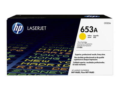 HP CF322A  ORIGINAL TONER YELLOW 653A