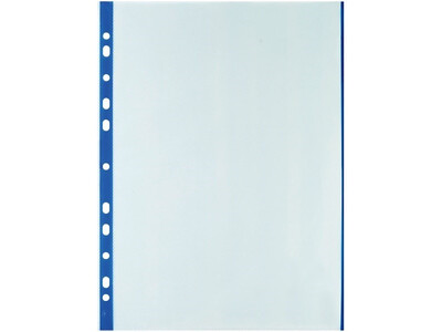 PVC COPY SAFE A4 0.70MM BLUE20PCS