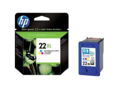 HP 22 ORIGINAL EXTRA LARGE COLOUR INK 11ML