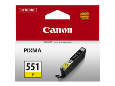 CANON CLI551 ORIGINAL YELLOW INK 7ML