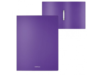 ERICHKRAUSE RING BINDER CLASSIC 2 RINGS 24mm A4 PURPLE