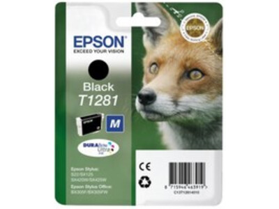 EPSON T1281 ORIGINAL BLACK INK
