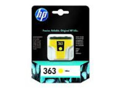 HP 363 ORIGINAL YELLOW INK