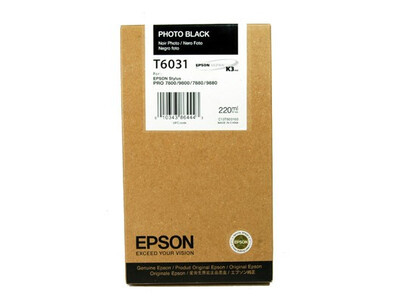 EPSON T6031 ORIGINAL PHOTO BLACK