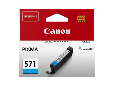 CANON CLI571 ORIGINAL CYAN INK