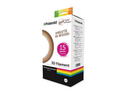 POLAROID 3D WOOD FILAMENT FOR ROOT PLAY PEN 15