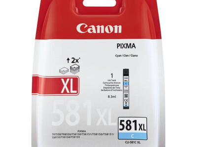 CANON CLI581XL ORIGINAL CYAN INK  8.3ml