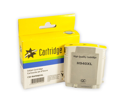 HP 940XL CW REPLACEMENT YELLOW  INK