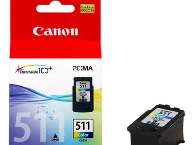 CANON CL511 ORIGINAL COLOUR INK 9ML