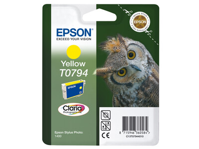 EPSON T0794 ORIGINAL YELLOW INK