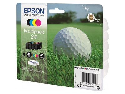 EPSON 34 ORIGINAL MULTIPACK 4 INKS