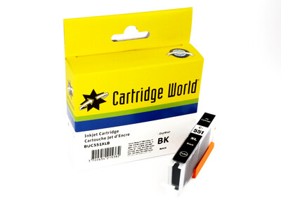 CANON CLI551 XL CW REPLACEMENT BLACK INK 11ML