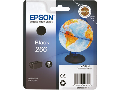 EPSON 266 ORIGINAL BLACK INK