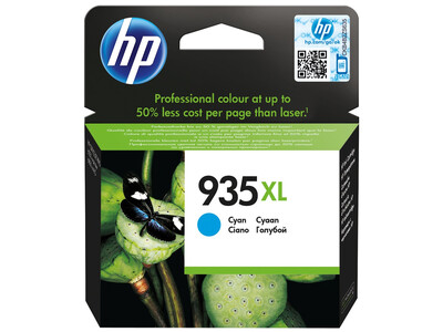 HP 935XL ORIGINAL CYAN INK
