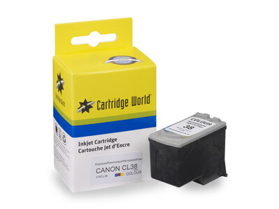 CANON CL38 CW REPLACEMENT COLOUR INK WIGIG
