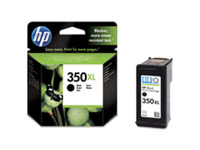 HP 350 EXTRA LARGE ORIGINAL BLACK INK 25ML