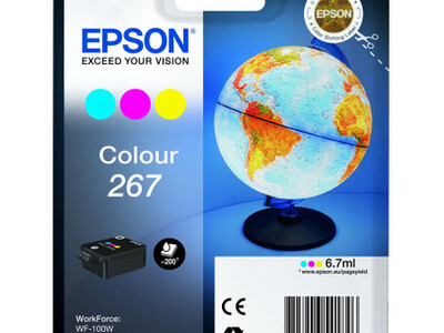EPSON 267 ORIGINAL COLOUR INK