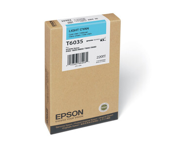 EPSON T6035 ORIGINAL LIGHT-CYAN INK