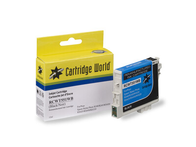 EPSON T0551 REPLACEMENT  BLACK INK WIGIG